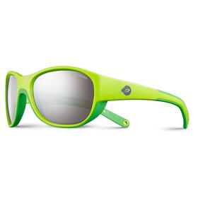 Julbo Luky Spectron 3+ Gafas de sol 4-6Años Niños, green/green-gray flash silver